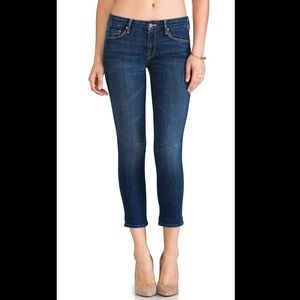 MOTHER  'The Looker' Crop Skinny Jeans 27